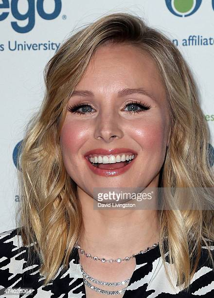 Actress Kristen Bell attends the Jhpiego's Laughter is the Best Medicine event at the Regent Beverly Wilshire Hotel on May 19 2015 in Beverly Hills...