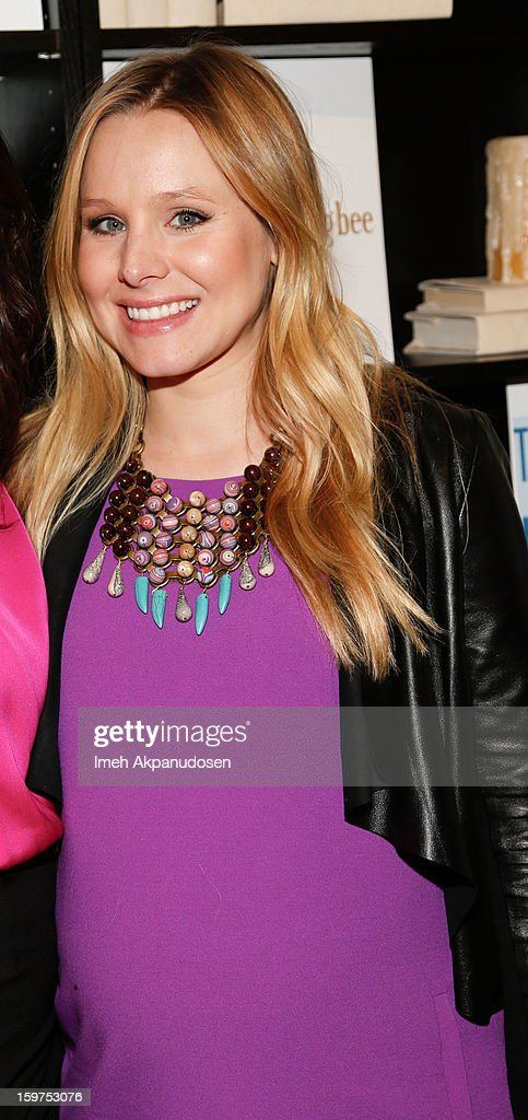 Actress Kristen Bell attends 'The Lifeguard' after party on January 19, 2013 in Park City, Utah.