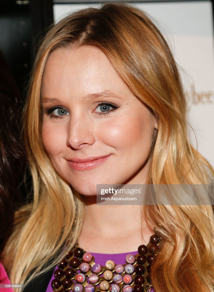 Actress <a gi-track='captionPersonalityLinkClicked' href=/galleries/search?phrase=Kristen+Bell&family=editorial&specificpeople=194764 ng-click='$event.stopPropagation()'>Kristen Bell</a> attends 'The Lifeguard' after party on January 19, 2013 in Park City, Utah.
