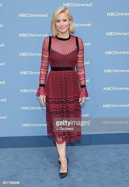 Actress Kristen Bell attends the NBCUniversal 2016 Upfront at Radio City Music Hall on May 16 2016 in New York City