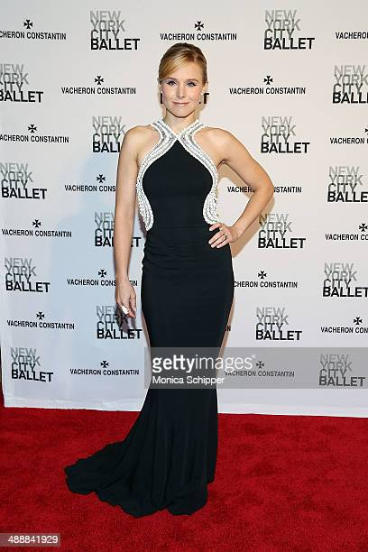 Actress Kristen Bell attends the New York City Ballet 2014 Spring Gala at David H Koch Theater Lincoln Center on May 8 2014 in New York City