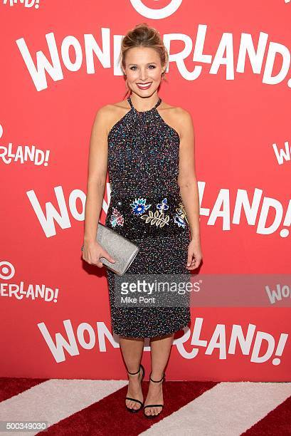 Actress Kristen Bell attends the Target Wonderland VIP Event Kick Off at Target Wonderland on December 7 2015 in New York City