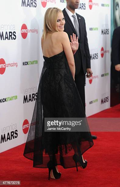 Actress Kristen Bell attends the 'Veronica Mars' screening at AMC Loews Lincoln Square on March 10 2014 in New York City