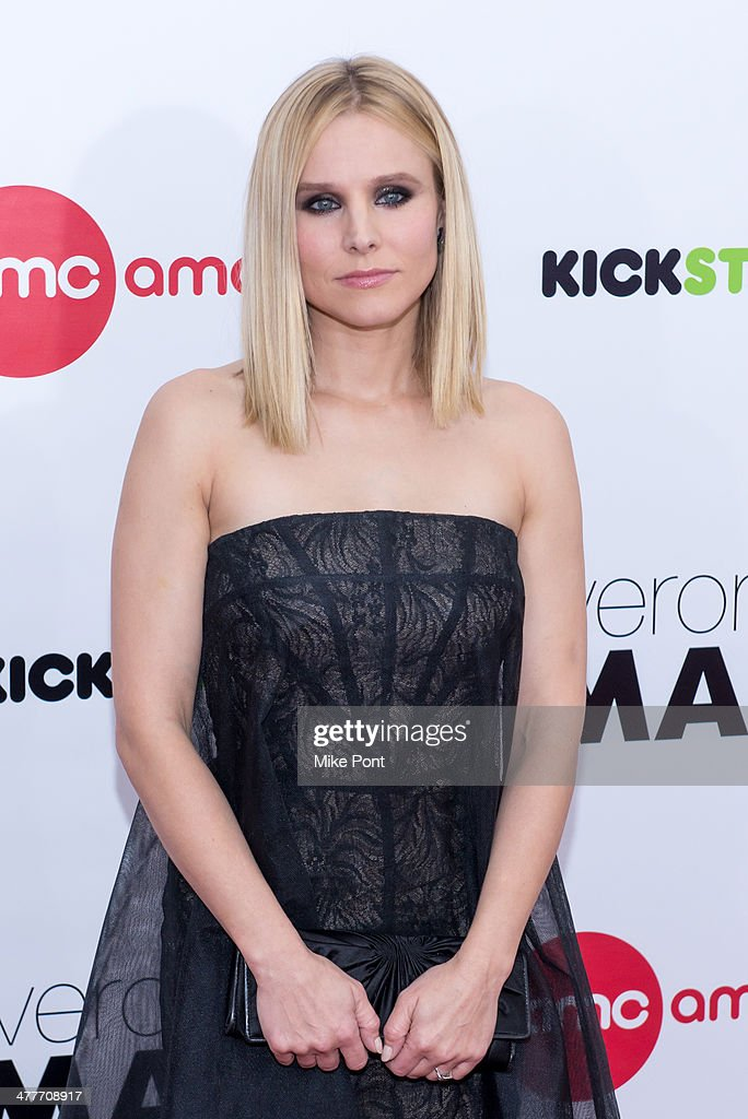 Actress <a gi-track='captionPersonalityLinkClicked' href=/galleries/search?phrase=Kristen+Bell&family=editorial&specificpeople=194764 ng-click='$event.stopPropagation()'>Kristen Bell</a> attends the 'Veronica Mars' screening at AMC Loews Lincoln Square on March 10, 2014 in New York City.