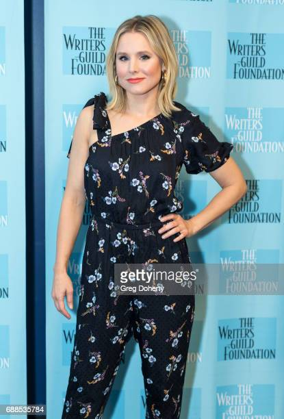 Actress Kristen Bell attends the Writers Guild Foundation Presents The Serialized Sitcom Writing And Acting With 'The Good Place' at ArcLight...