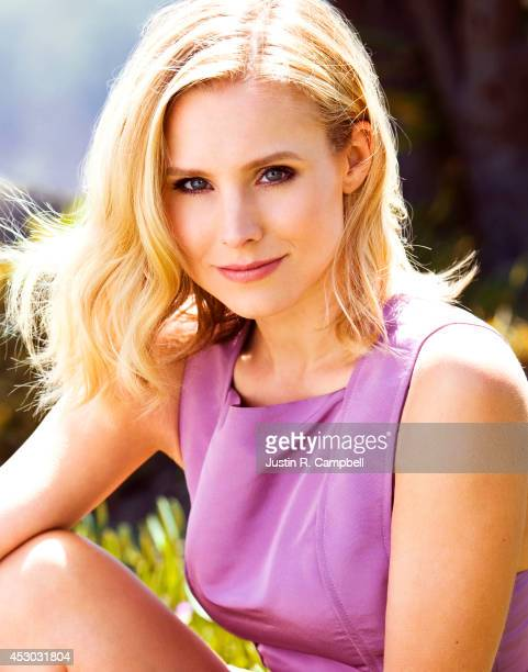 Actress Kristen Bell is photographed for Just Jared on March 21 2014 in Los Angeles California PUBLISHED ONLINE