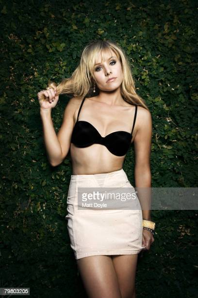 Actress Kristen Bell poses at a portrait session in Los Angeles