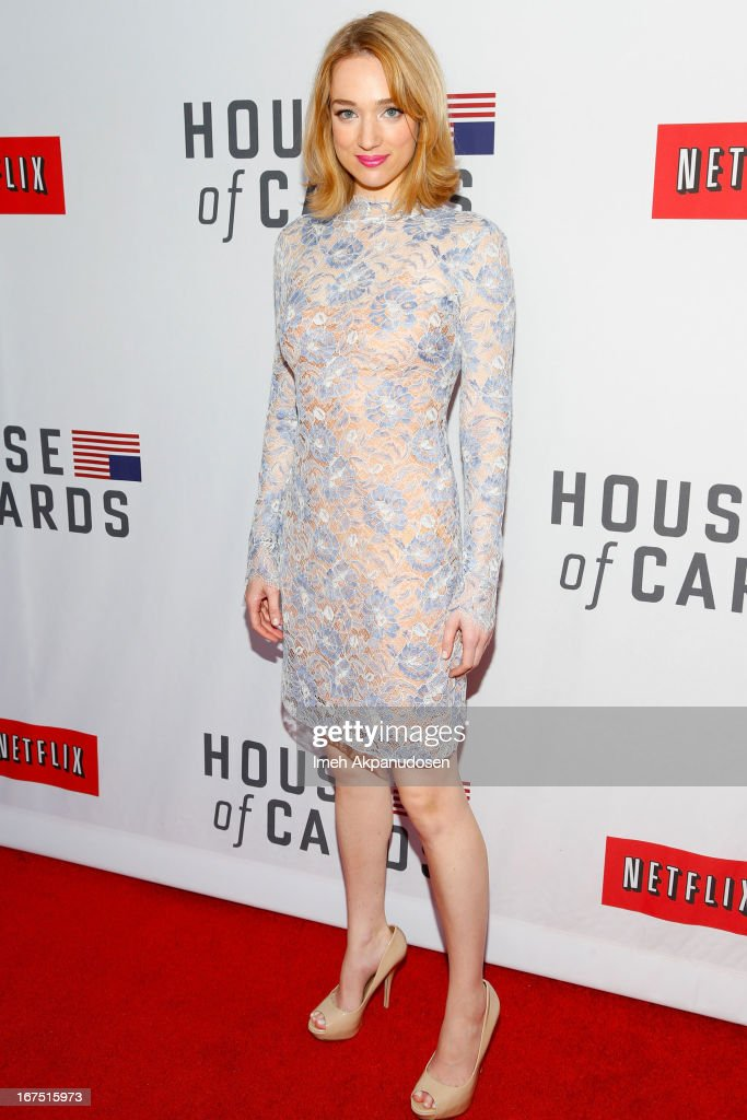 Actress Kristen Connolly attends Netflix's 'House Of Cards' For Your Consideration Q&A Event at Leonard H. Goldenson Theatre on April 25, 2013 in North Hollywood, California.