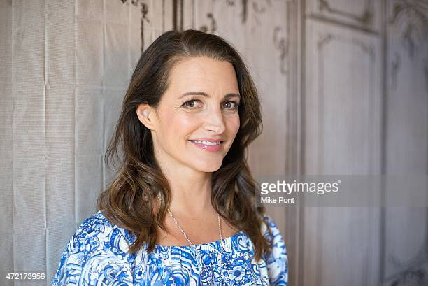 Actress Kristen Davis attends the AOL BUILD Speaker Series to discuss her documentary 'Gardeners Of Eden' at AOL Studios In New York on May 4 2015 in...