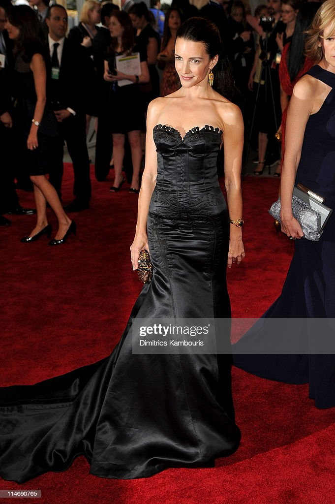 Actress Kristen Davis attends the Costume Institute Gala Benefit to celebrate the opening of the 'American Woman: Fashioning a National Identity' exhibition at The Metropolitan Museum of Art on May 3, 2010 in New York City.
