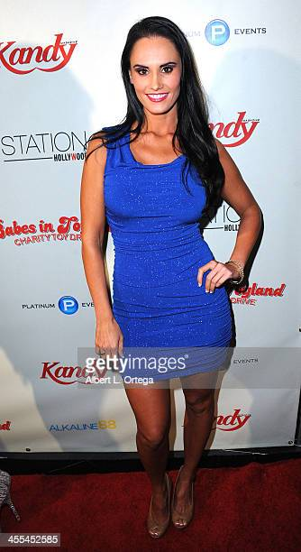 Actress Kristen DeLuca attends the 6th Annual Babes In Toyland Charity Toy Drive held at The Station at The W Hotel on December 11 2013 in Hollywood...