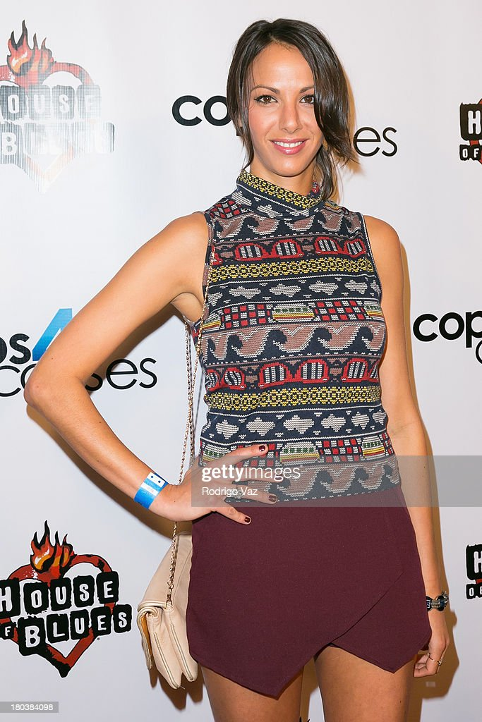 Actress Kristen Doute arrives at Cops 4 Causes hosts 2nd Annual 'Heroes Helping Heroes' Benefit Concert at House of Blues Sunset Strip on September 11, 2013 in West Hollywood, California.