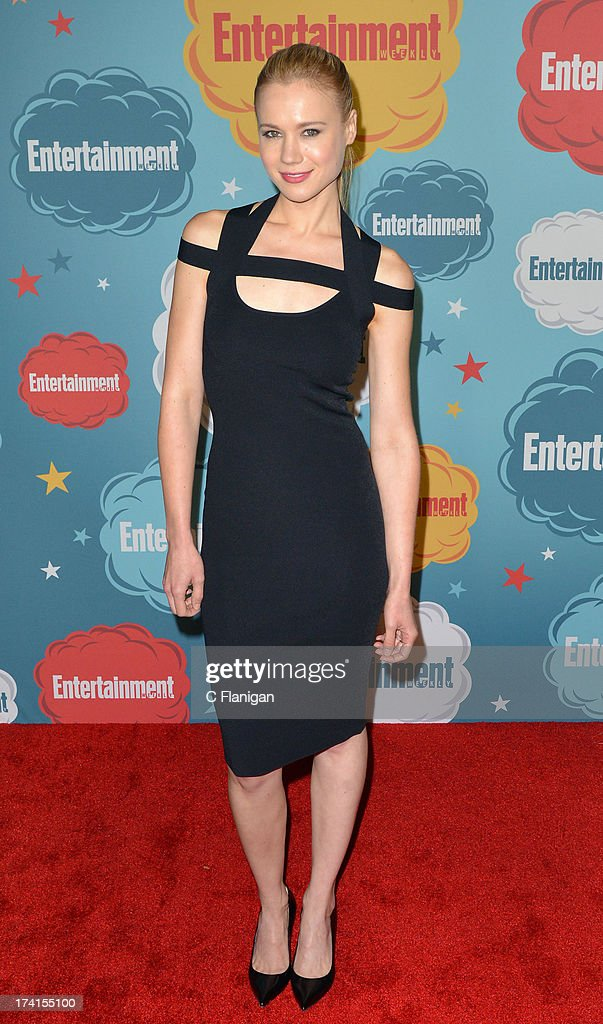 Actress Kristen Hager arrives at Entertainment Weekly's Annual Comic-Con Celebration at Float at Hard Rock Hotel San Diego on July 20, 2013 in San Diego, California.