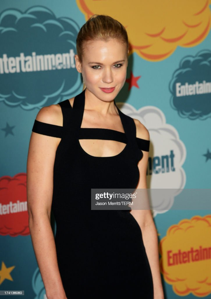 Actress <a gi-track='captionPersonalityLinkClicked' href=/galleries/search?phrase=Kristen+Hager&family=editorial&specificpeople=4498241 ng-click='$event.stopPropagation()'>Kristen Hager</a> attends Entertainment Weekly's Annual Comic-Con Celebration at Float at Hard Rock Hotel San Diego on July 20, 2013 in San Diego, California.