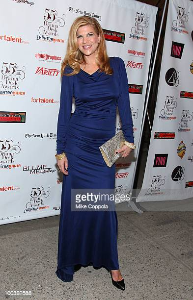 Actress Kristen Johnston arrives at the 55th Annual Drama Desk Awards at the FH LaGuardia Concert Hall at Lincoln Center on May 23 2010 in New York...