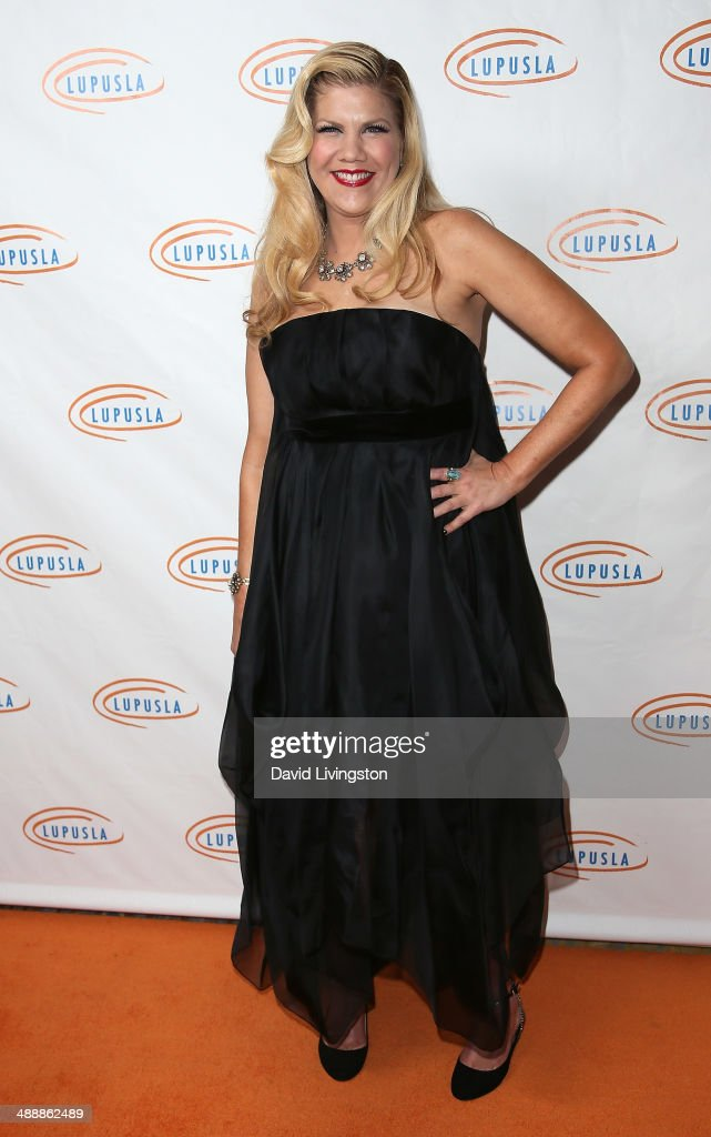 Actress <a gi-track='captionPersonalityLinkClicked' href=/galleries/search?phrase=Kristen+Johnston&family=editorial&specificpeople=680408 ng-click='$event.stopPropagation()'>Kristen Johnston</a> attends the 14th Annual Lupus LA Orange Ball at the Regent Beverly Wilshire Hotel on May 8, 2014 in Beverly Hills, California.