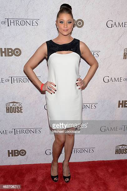 Actress Kristen Renton attends the HBO And Blackhouse Foundation 'Game Of Thrones' Sundance Soiree on January 18 2014 in Park City Utah