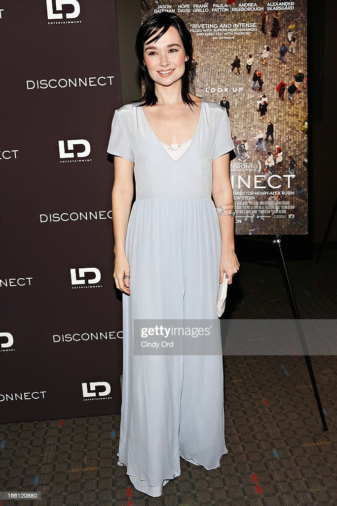 Actress Kristen Ruhlin attends the 'Disconnect' New York Special Screening at SVA Theater on April 8 2013 in New York City