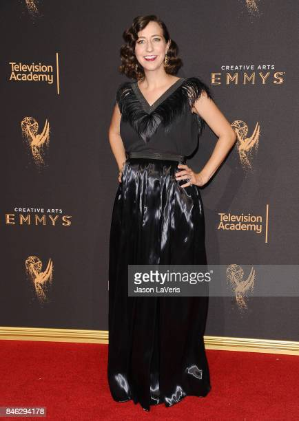 Actress Kristen Schaal attends the 2017 Creative Arts Emmy Awards at Microsoft Theater on September 9 2017 in Los Angeles California