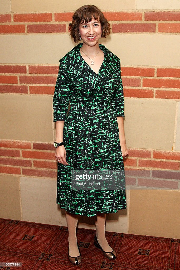 Actress Kristen Schaal attends the 40th Annual Annie Awards after party held at Royce Hall on the UCLA Campus on February 2, 2013 in Westwood, California.