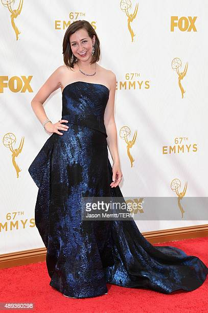Actress Kristen Schaal attends the 67th Annual Primetime Emmy Awards at Microsoft Theater on September 20 2015 in Los Angeles California