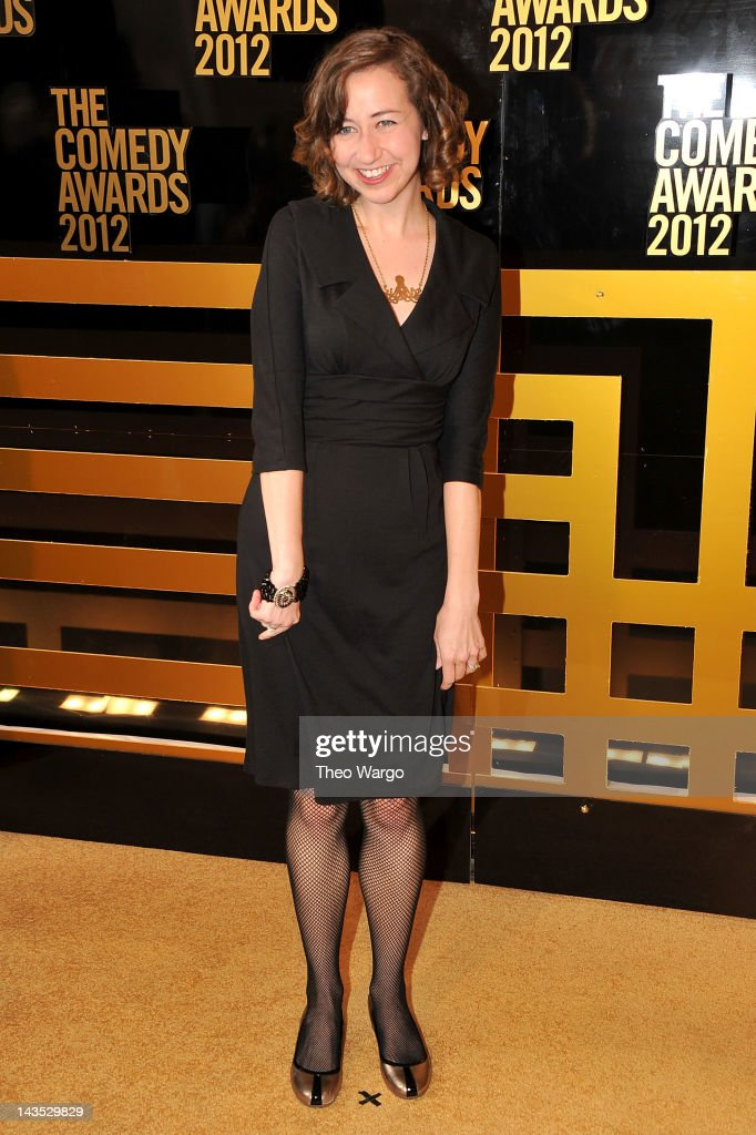 Actress Kristen Schaal attends The Comedy Awards 2012 at Hammerstein Ballroom on April 28, 2012 in New York City.