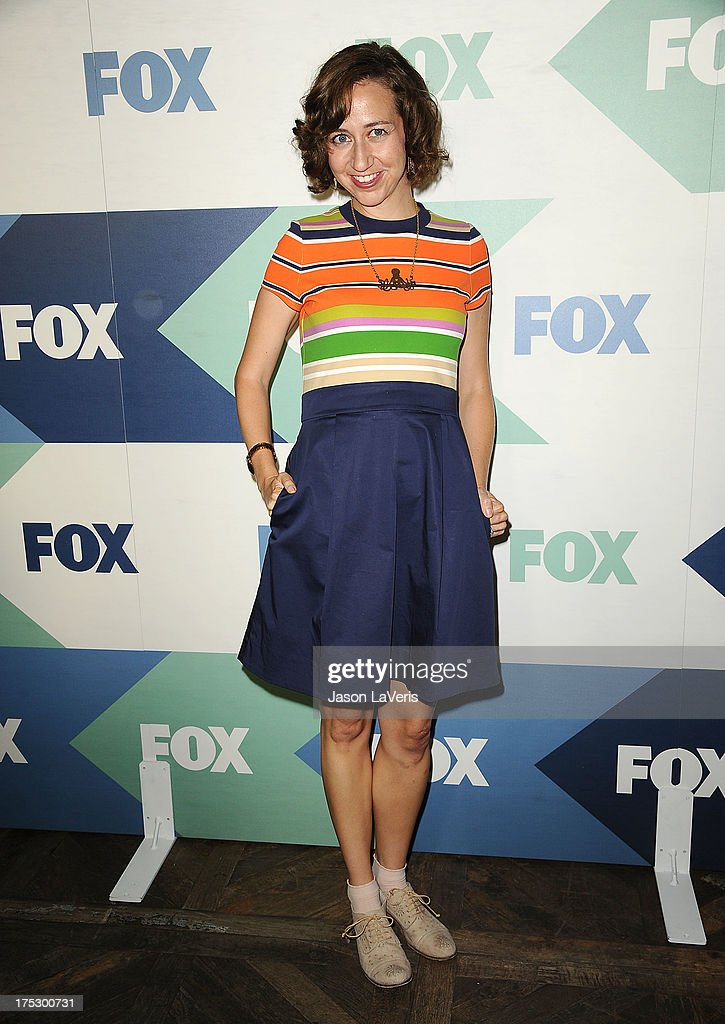 Actress Kristen Schaal attends the FOX All-Star Party on August 1, 2013 in West Hollywood, California.