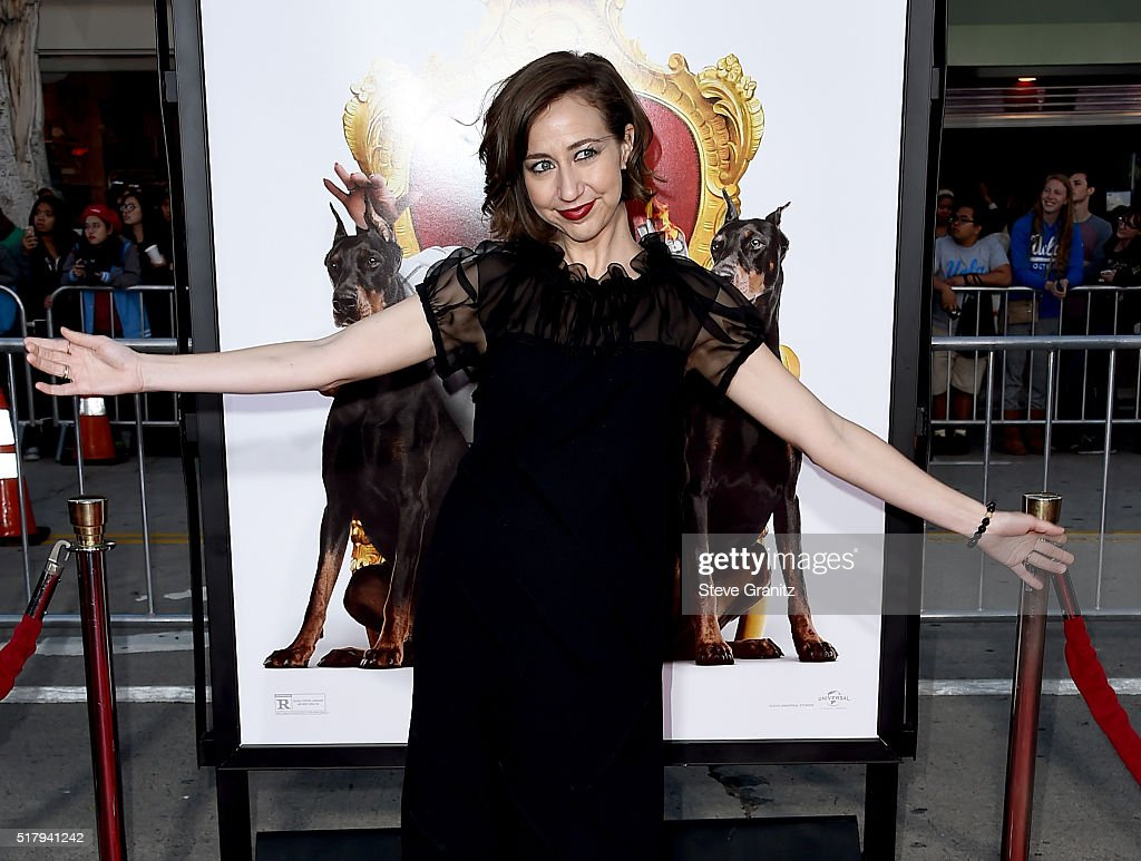 Actress Kristen Schaal attends the premiere of USA Pictures' 'The Boss' at Regency Village Theatre on March 28 2016 in Westwood California