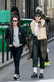 Actress Kristen Stewart and Stephanie Sokolinski aka SoKo are seen strolling on March 15 2016 in Paris France