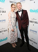 Actress Kristen Stewart and The Thirst Project President/CEO Seth Maxwell attend the 7th Annual Thirst Gala at The Beverly Hilton Hotel on June 13...