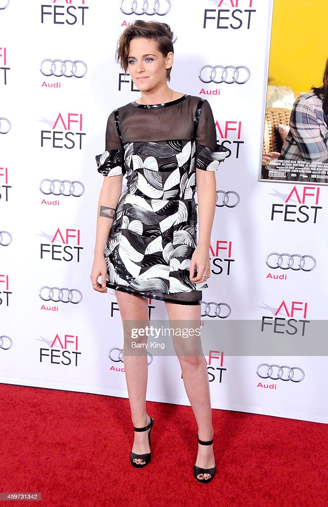 Actress Kristen Stewart arrives at AFI FEST 2014 Presented By Audi 'Still Alice' Premiere at Dolby Theatre on November 12 2014 in Hollywood California