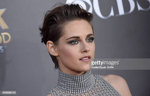 Actress Kristen Stewart arrives at the 18th Annual Hollywood Film Awards at The Palladium on November 14 2014 in Hollywood California