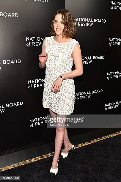 Actress Kristen Stewart attends 2015 National Board of Review Gala at Cipriani 42nd Street on January 5 2016 in New York City