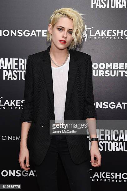 Actress Kristen Stewart attends a screening of 'American Pastoral' hosted by Lionsgate Lakeshore Entertainment and Bloomberg Pursuits at Museum of...