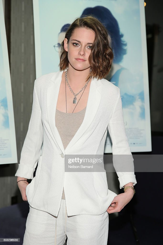 Actress Kristen Stewart attends a screening of 'Clouds Of Sils Maria' hosted by IFC at the IFC Center on January 3, 2016 in New York City.