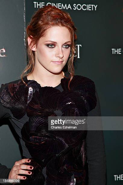 Actress Kristen Stewart attends a screening of 'The Twilight Saga Eclipse' hosted by The Cinema Society and Piaget at the Crosby Street Hotel on June...
