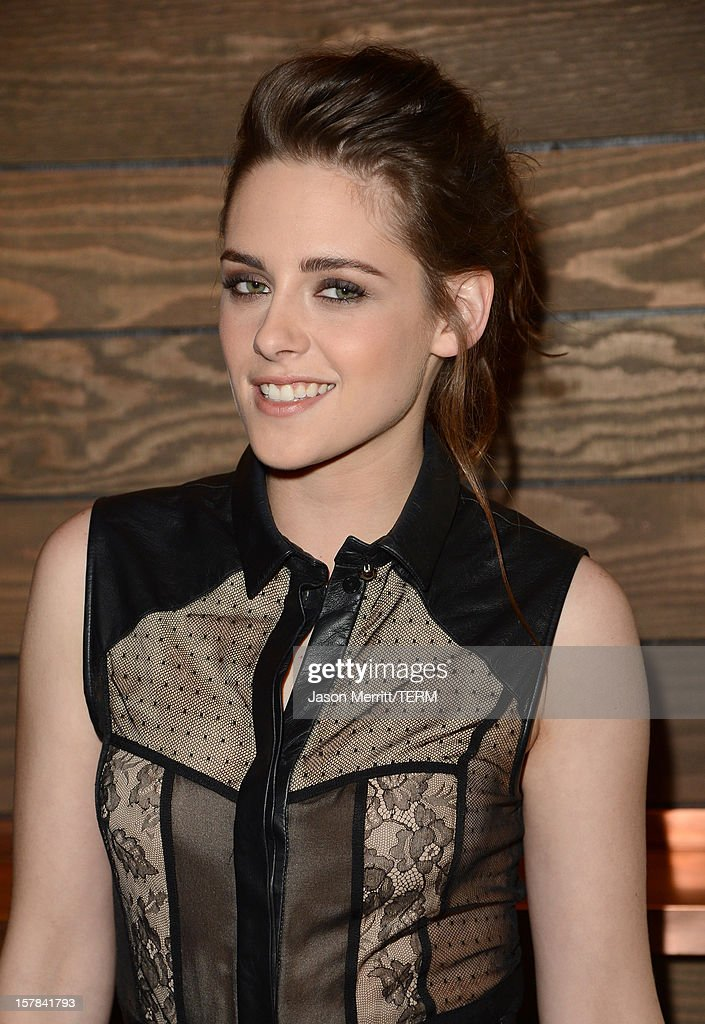 Actress Kristen Stewart attends a special screening of 'On The Road' at Sundance Cinema on December 6, 2012 in Los Angeles, California.