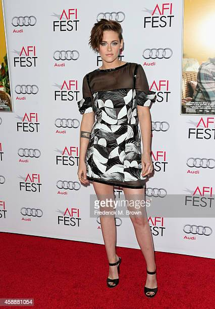 Actress Kristen Stewart attends a special screening of 'Still Alice' during the AFI FEST 2014 presented by Audi at Dolby Theatre on November 12 2014...