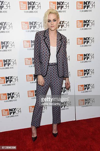 Actress Kristen Stewart attends 'An Evening with Kristen Stewart' during the 54th New York Film Festival at Stanley H Kaplan Penthouse at Lincoln...