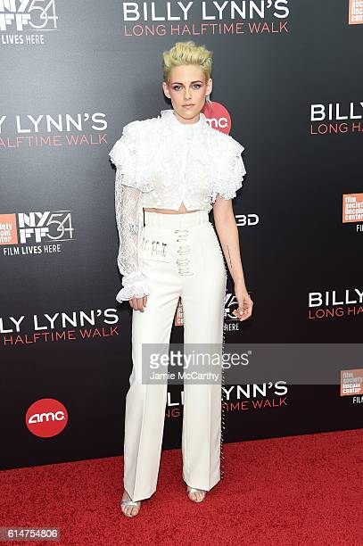 Actress Kristen Stewart attends 'Billy Lynn's Long Halftime Walk' during 54th New York Film Festival at AMC Lincoln Square Theater on October 14 2016...
