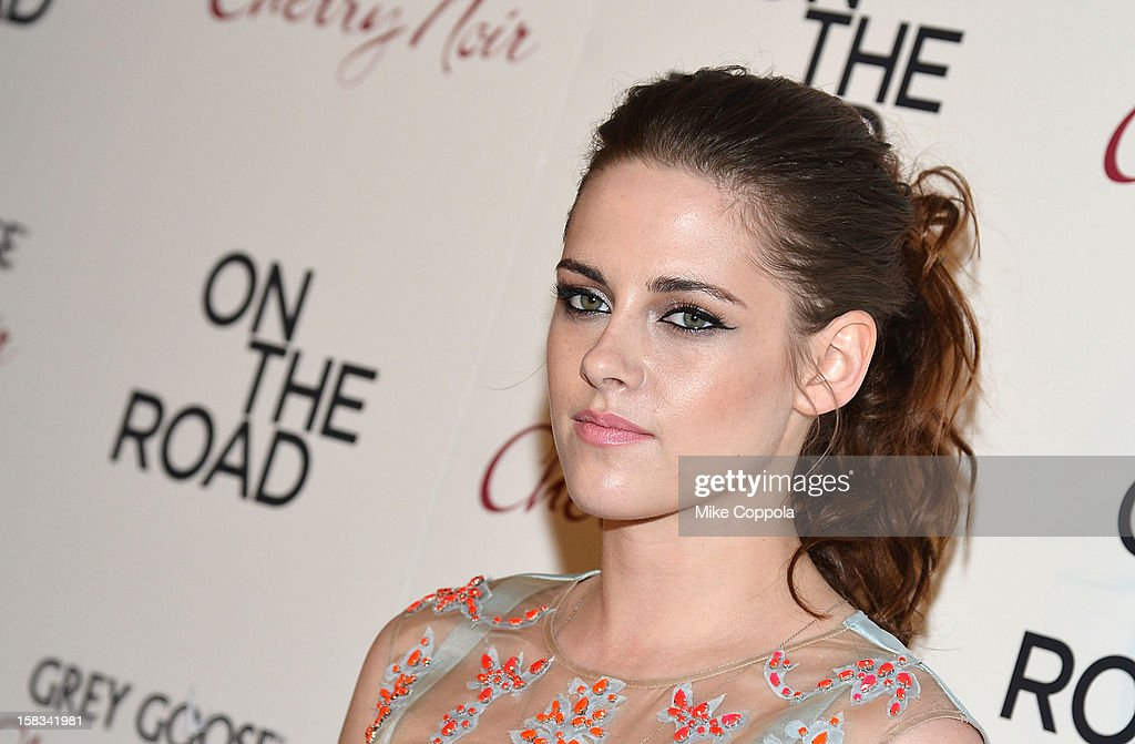 Actress Kristen Stewart attends 'On The Road' New York Premiere at SVA Theater on December 13, 2012 in New York City.