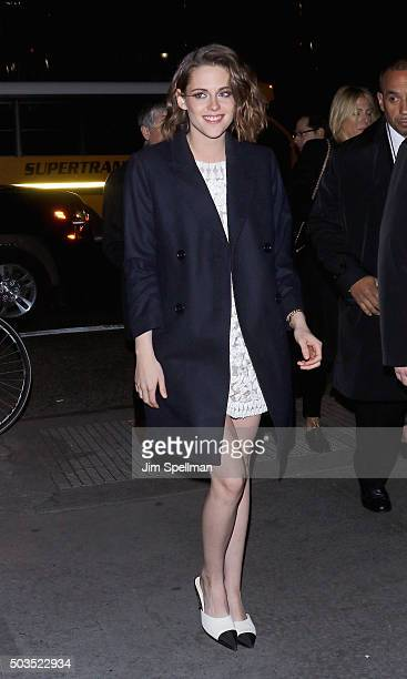 Actress Kristen Stewart attends the 2015 National Board Of Review Gala at Cipriani 42nd Street on January 5 2016 in New York City