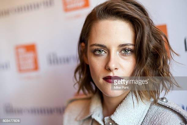 Actress Kristen Stewart attends the 2016 Film Society Of Lincoln Center Luncheon at Scarpetta on January 5 2016 in New York City