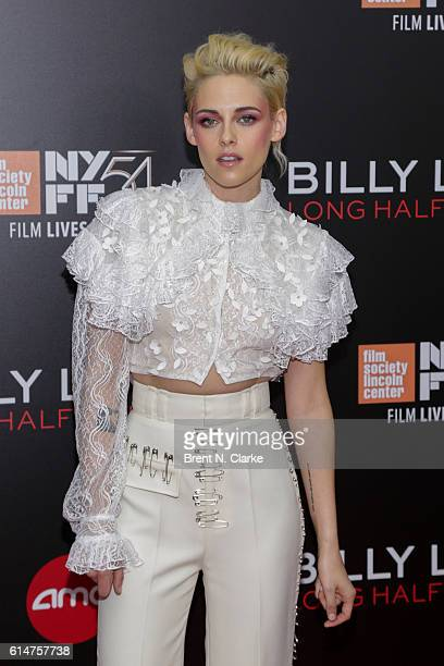 Actress Kristen Stewart attends the 54th New York Film Festival 'Billy Lynn's Long Halftime Walk' premiere held at AMC Lincoln Square Theater on...