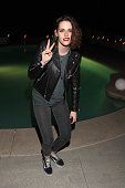 Actress Kristen Stewart attends the Albright Fashion Library LA Launch on February 3 2016 in Beverly Hills California