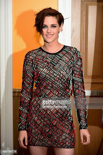 Actress Kristen Stewart attends the 'Camp XRay' New York premiere at the Crosby Street Hotel on October 6 2014 in New York City