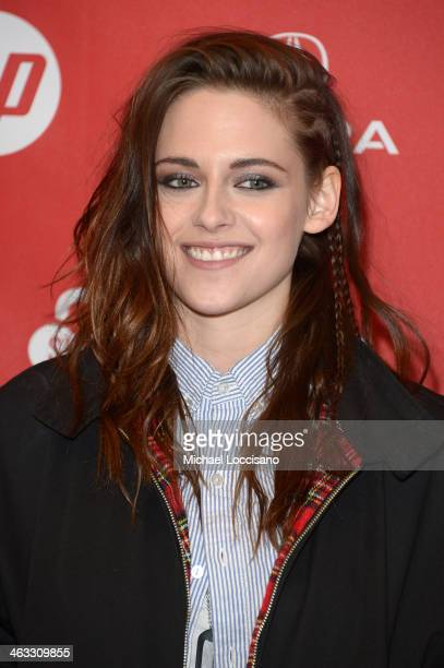 Actress Kristen Stewart attends the 'Camp XRay' premiere at Eccles Center Theatre during the 2014 Sundance Film Festival on January 17 2014 in Park...