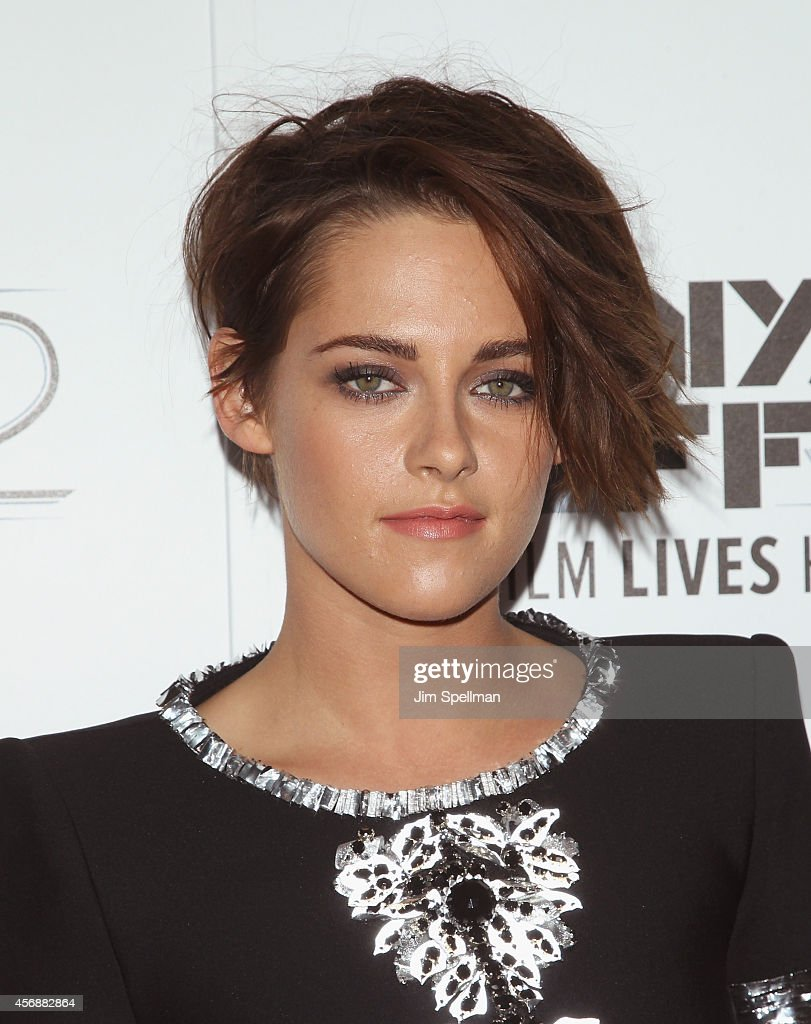 Actress Kristen Stewart attends the 'Clouds Of Sils Maria' premiere during the 52nd New York Film Festival at Alice Tully Hall on October 8 2014 in...