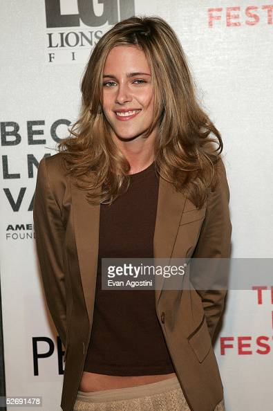 Actress Kristin Stewart attends the 'Fierce People' screening at the Tribeca Film Festival April 24 2005 in New York City