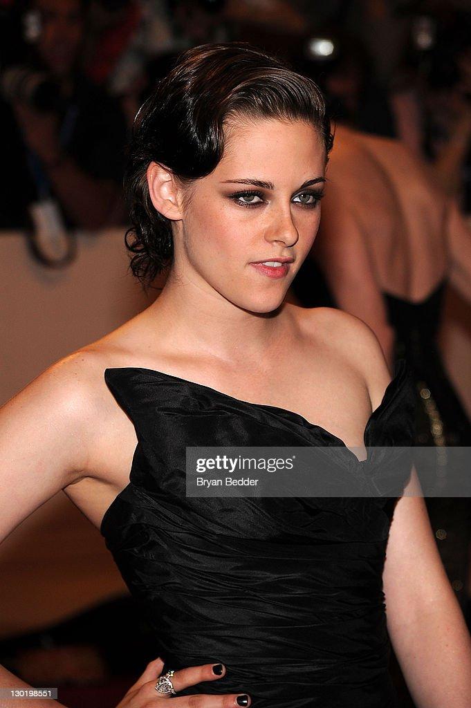 Actress Kristen Stewart attends the Metropolitan Museum of Art's 2010 Costume Institute Ball at The Metropolitan Museum of Art on May 3, 2010 in New York City.